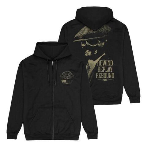 √RRR Skull von Volbeat - Hooded jacket jetzt im Bravado Shop