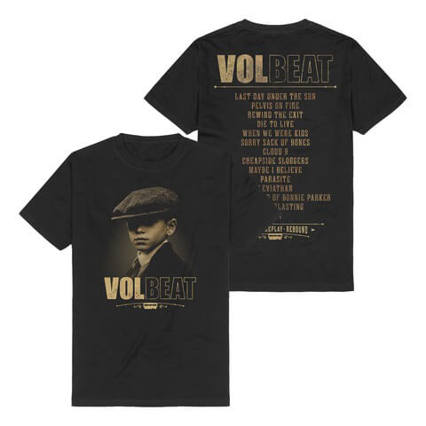 √Tracklist von Volbeat - T-shirt jetzt im Bravado Shop
