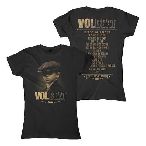 √Tracklist von Volbeat - Girlie Shirt jetzt im Bravado Shop