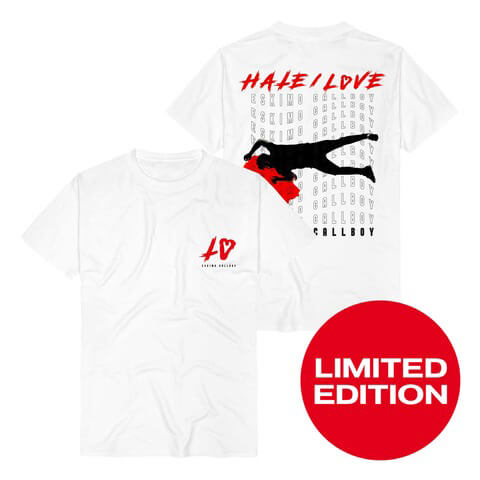 √Hate Love Pocket von Eskimo Callboy - T-Shirt jetzt im Bravado Shop