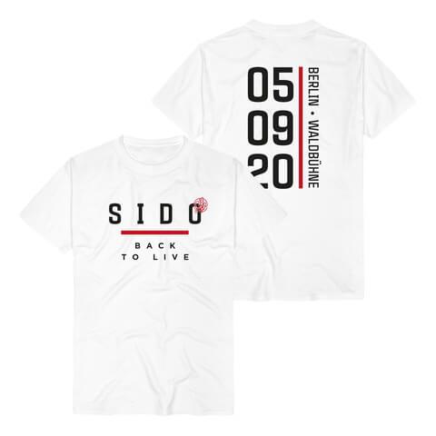 √Back To Live Berlin von Sido - T-Shirt jetzt im Bravado Shop