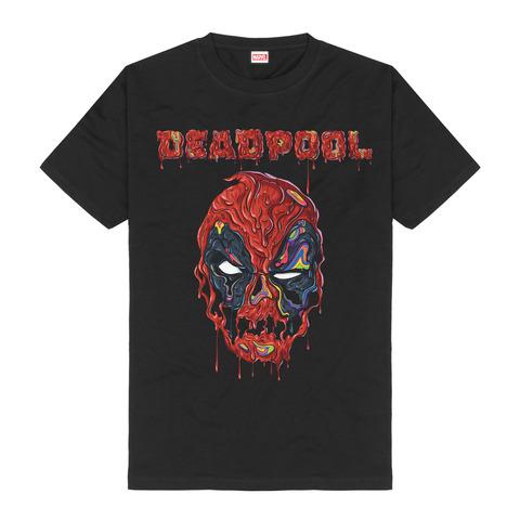 √Melting Face von Deadpool - T-Shirt jetzt im Bravado Shop