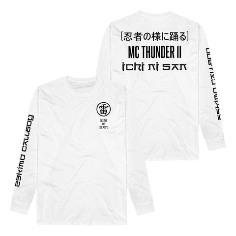 √MC Thunder II - Ichi Ni San von Eskimo Callboy - Long-sleeve jetzt im Bravado Shop