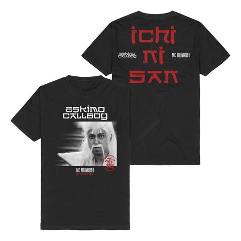 √MC Thunder II - Photo von Eskimo Callboy - T-Shirt jetzt im Bravado Shop