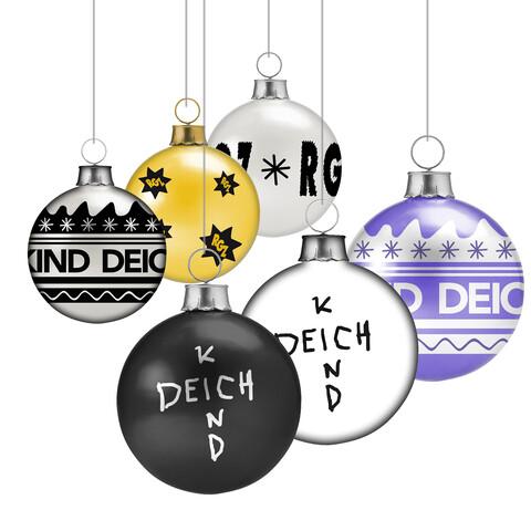√Richtig Gute von Deichkind - christmas balls, set of 6 jetzt im Bravado Shop