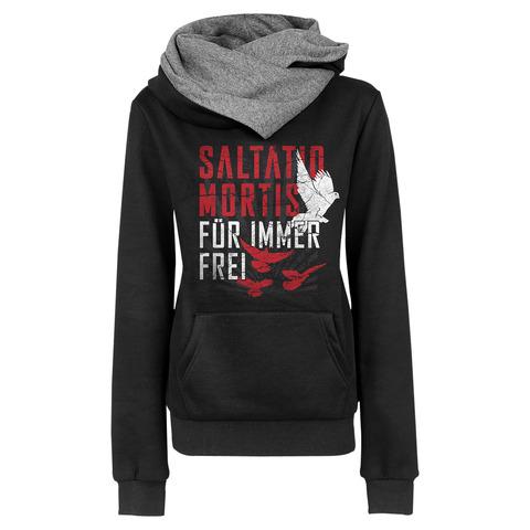√Birds von Saltatio Mortis - Girlie hooded sweater jetzt im Bravado Shop