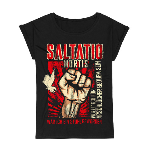 √Fist Up von Saltatio Mortis - Loose Fit Girlie Shirt jetzt im Bravado Shop