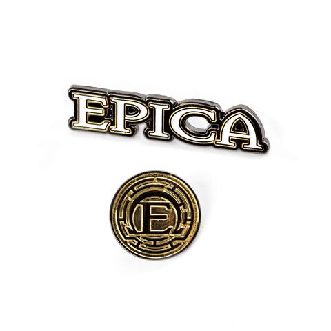 √Epica Logos von Epica - Pin Set jetzt im Bravado Shop