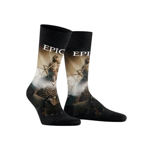 √Omega Cover Art All Over von Epica - Socks jetzt im Bravado Shop