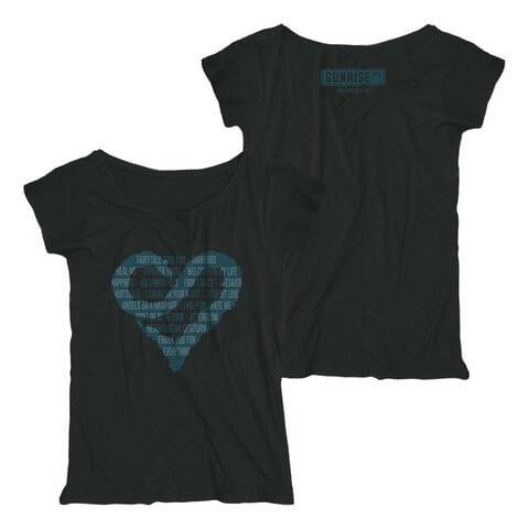 √Best Of von Sunrise Avenue - Loose Fit Girlie Shirt jetzt im Bravado Shop