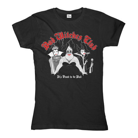 Villains - Bad Witches Club von Disney - Girlie Shirt jetzt im Bravado Shop