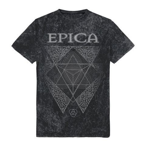 √Triangle von Epica - T-Shirt jetzt im Bravado Shop