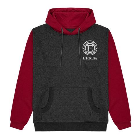√Epica Logo - 2 Tone Hoodie von Epica - Hood sweater jetzt im Bravado Shop