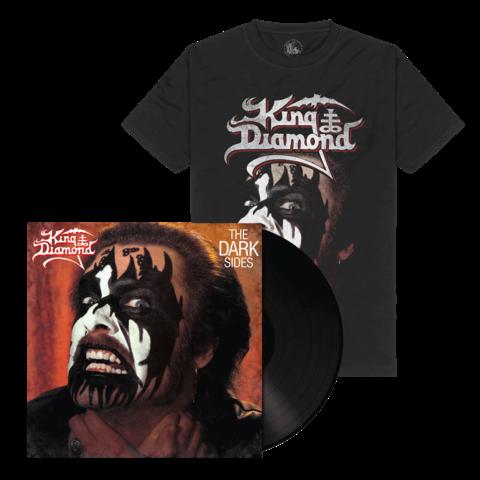 √The Dark Sides (Ltd. Bundle Black Vinyl + Shirt) von King Diamond - LP Bundle jetzt im Bravado Shop