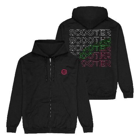 √Logo Repeat von Scooter - Hooded jacket jetzt im Bravado Shop