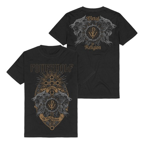 √Crest Wolves von Powerwolf - T-Shirt jetzt im Bravado Shop