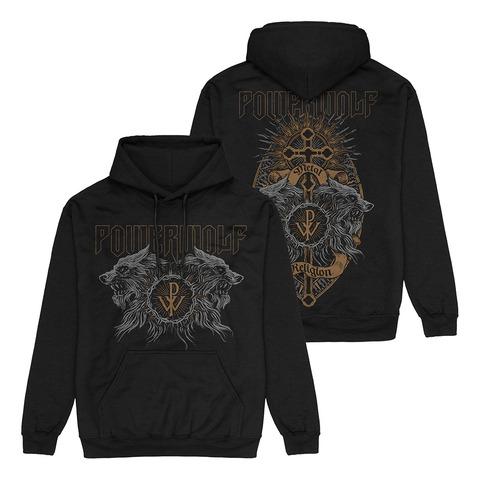 √Crest Wolves von Powerwolf - Hood sweater jetzt im Bravado Shop