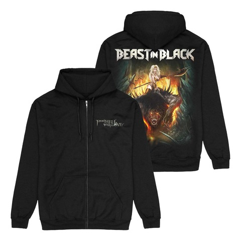 √From Hell With Love von Beast In Black - Hooded jacket jetzt im Bravado Shop