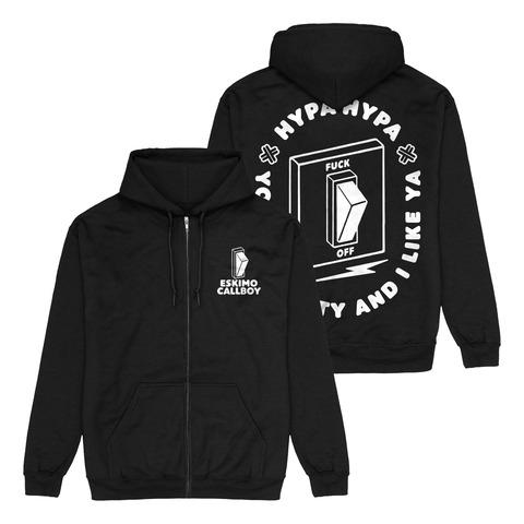 √Hypa Hypa Switch von Eskimo Callboy - Hooded jacket jetzt im Bravado Shop