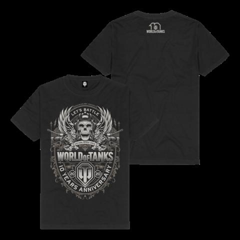 √10 Years Anniversary von World Of Tanks - t-shirt jetzt im Bravado Shop