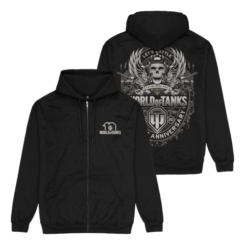 √10 Years Anniversary von World Of Tanks - Hooded jacket jetzt im Bravado Shop