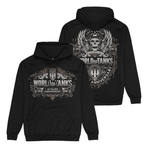 √10 Years Anniversary von World Of Tanks - Hood sweater jetzt im Bravado Shop