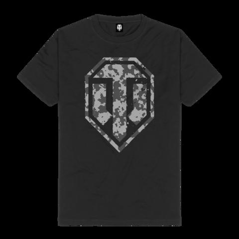 Camo Logo von World Of Tanks - T-Shirt jetzt im Bravado Shop