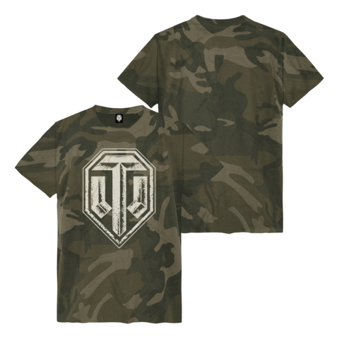 √Camo All Over Logo von World Of Tanks - t-shirt jetzt im Bravado Shop