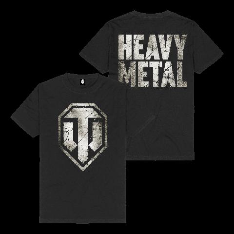 Heavy Metal Logo von World Of Tanks - T-Shirt jetzt im Bravado Shop