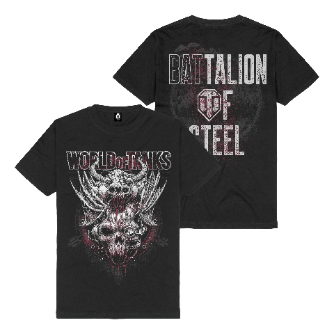 √Battalion of Steel von World Of Tanks - t-shirt jetzt im Bravado Shop
