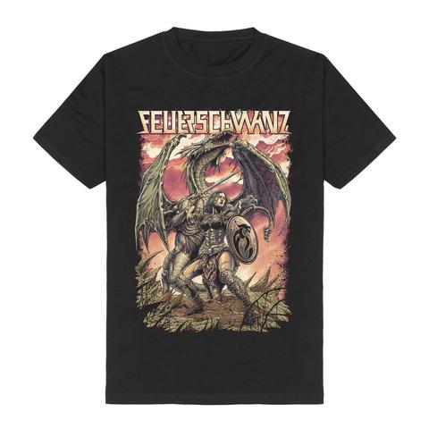 √Schildmaid von Feuerschwanz - T-Shirt jetzt im Bravado Shop