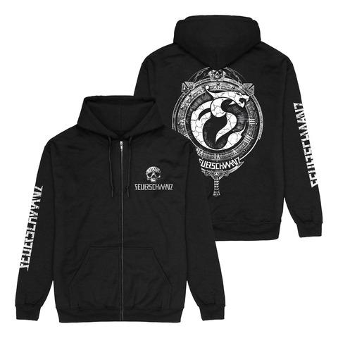 √Emblem von Feuerschwanz - Hooded jacket jetzt im Bravado Shop