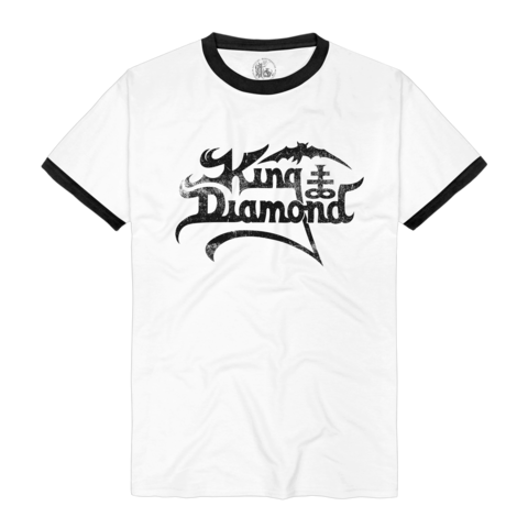 √Logo Ringer Tee von King Diamond - T-shirt jetzt im Bravado Shop