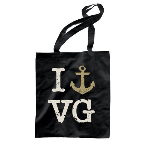 I Love VG von Versengold - Baumwollbeutel jetzt im Bravado Shop