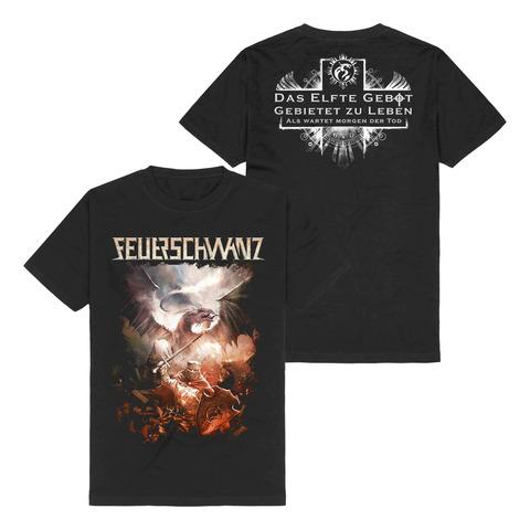 √Das Elfte Gebot von Feuerschwanz - T-Shirt jetzt im Bravado Shop