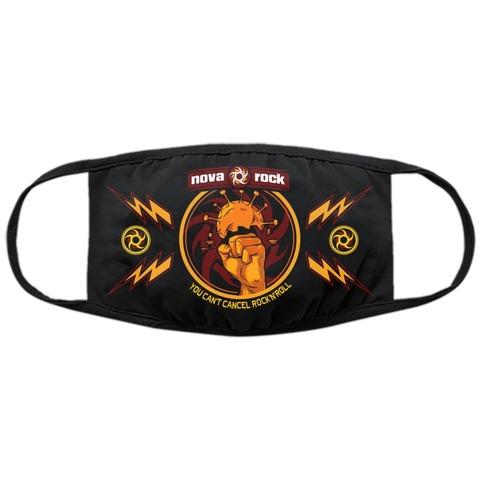 Corona Wrecker von Nova Rock Festival - Maske jetzt im Bravado Shop
