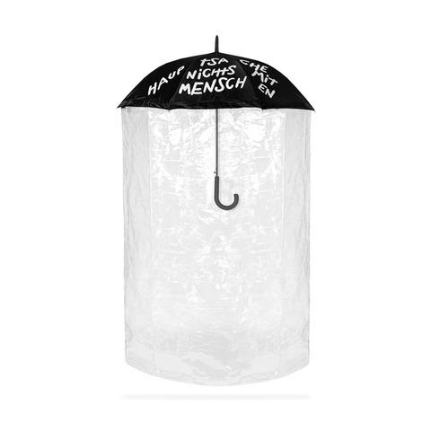 √Hauptsache nichts mit Menschen Abstands-Schirm von Deichkind - Umbrella jetzt im Bravado Shop