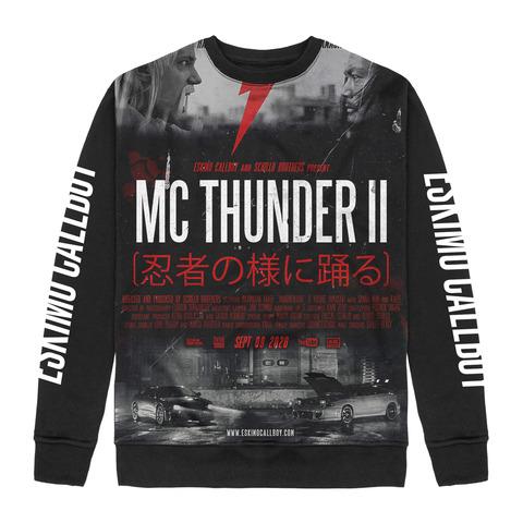 √MC Thunder II Allover von Eskimo Callboy - Crewneck Sweater jetzt im Bravado Shop