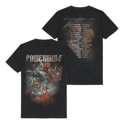 √Wolfsnächte 2021 von Powerwolf - T-Shirt jetzt im Bravado Shop