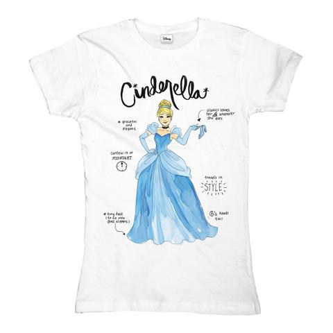 √Cinderella - Cinderella Specs von Disney - Girlie Shirt jetzt im Bravado Shop