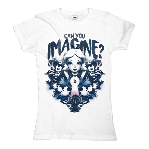 √Alice in Wonderland - Imagine von Disney - Girlie Shirt jetzt im Bravado Shop