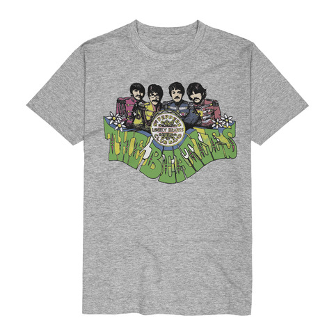 Sgt Peppers Fat Type von The Beatles - T-Shirt jetzt im Bravado Store