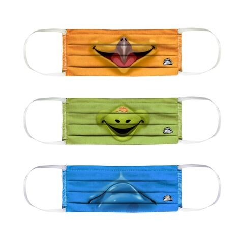 √Mieze, Josie, Frederic von Sascha Grammel - 3er mask set jetzt im Bravado Shop