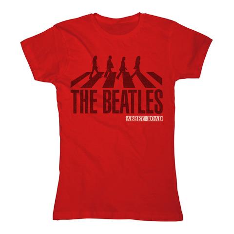 Abbey Road Silhouette von The Beatles - Girlie Shirt jetzt im Bravado Store