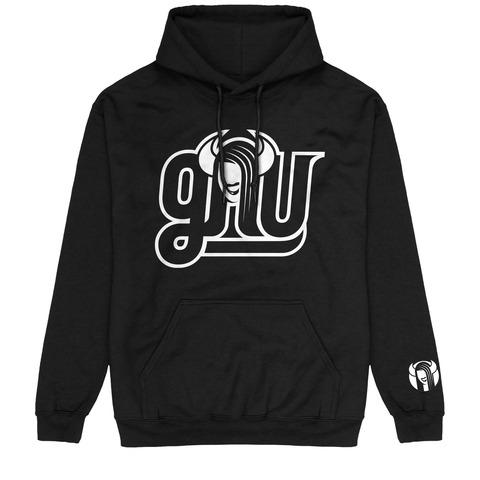 √Outline Logo von GNU - Hood sweater jetzt im Bravado Shop