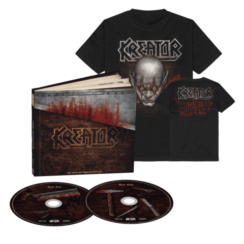 Under The Guillotine (2CD + T-Shirt Bundle) von Kreator - 2CD Earbook + T-Shirt jetzt im Bravado Shop