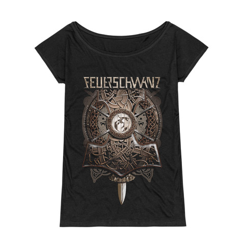 √Thors Hammer von Feuerschwanz - Girlie Shirt jetzt im Bravado Shop