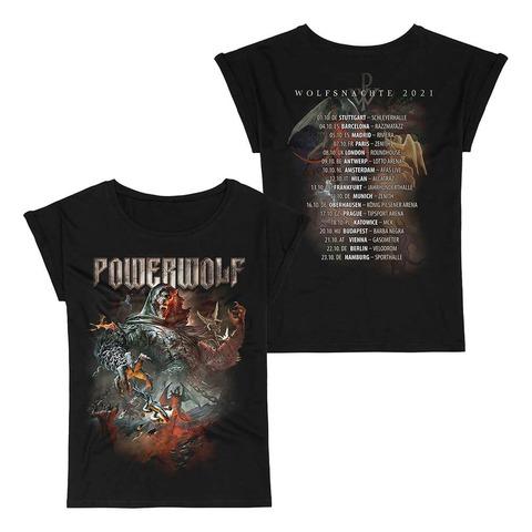 √Wolfsnächte 2021 von Powerwolf - Girlie Shirt jetzt im Bravado Shop