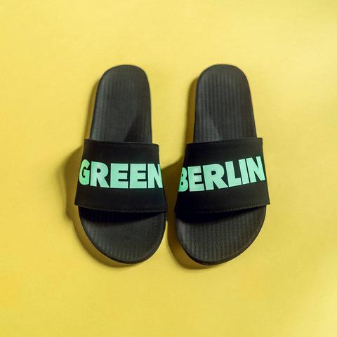 Green Berlinette von Green Berlin - Badeschlappen Herren jetzt im Bravado Shop