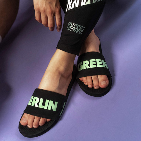 Green Berlinette von Green Berlin - Badeschlappen Damen jetzt im Bravado Shop
